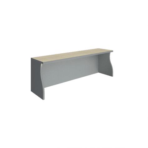 Надставка на стол, цвет клен металлик