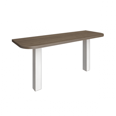 Элемент наборного переговорного стола (без опор), цвет вяз
