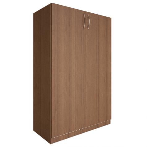 Шкаф средний закрытый, цвет орех