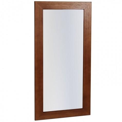 Зеркало Берже 24-105, цвет рамы - темно-коричневый