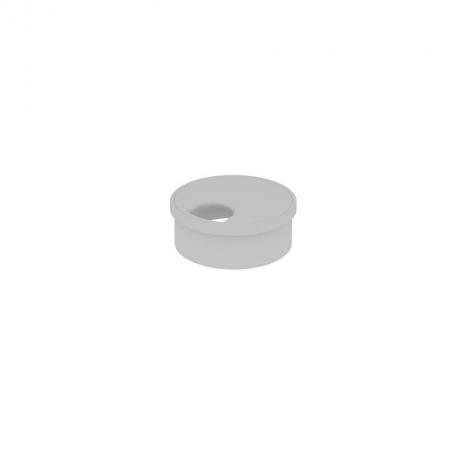 Заглушка кабель канала, цвет серый