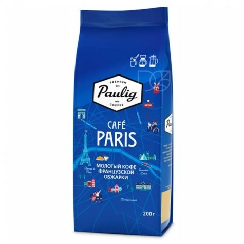 Кофе Paulig City Coffees Cafe Paris молотый