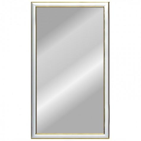 Зеркало Ария 2, цвет рамы - белый