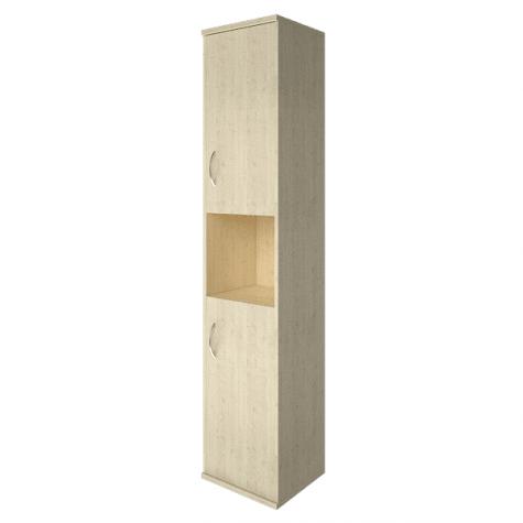 Шкаф высокий узкий с нишей правый, цвет клен