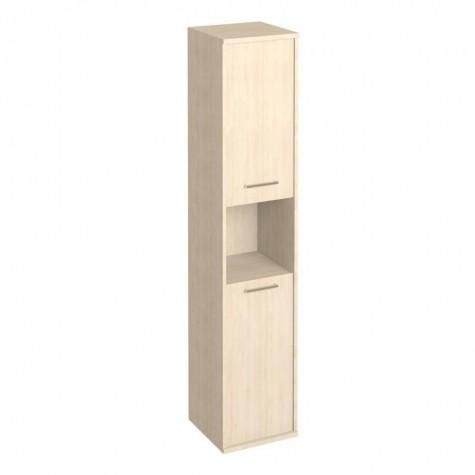 Шкаф 2-х дверный с нишей, цвет клен