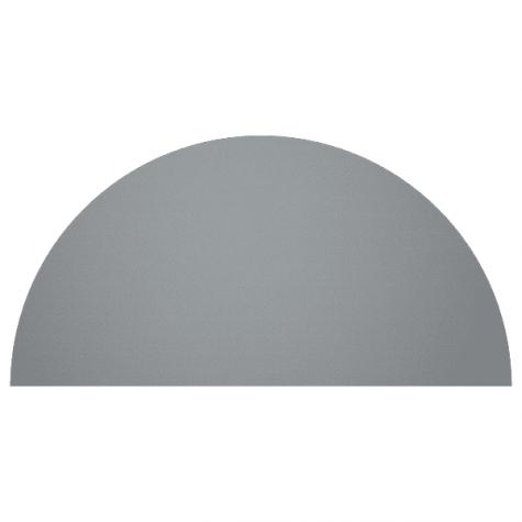 Приставка на два стола, цвет металлик