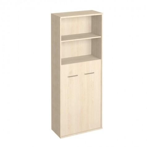 Шкаф для бумаг (2 открытые полки), цвет клен