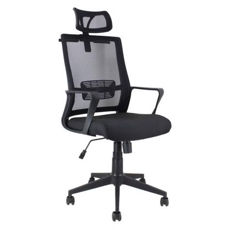 Кресло Профи 1807, цвет черный