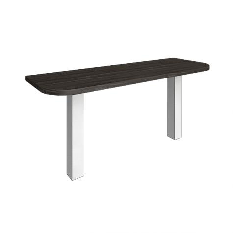 Элемент наборного переговорного стола (без опор), цвет темное дерево