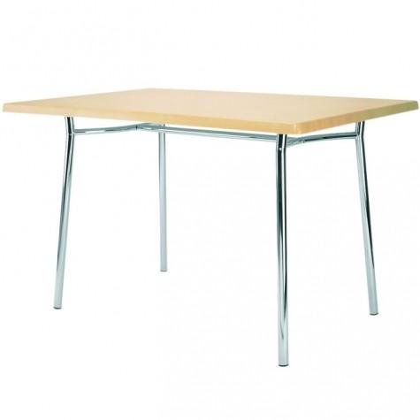 Стол обеденный Эстет-1, цвет дуб молочный