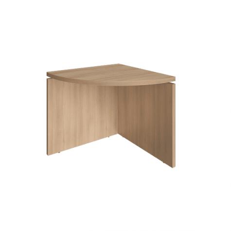 Элемент наборного переговорного стола, цвет акация