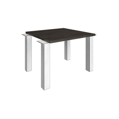 Элемент наборного переговорного стола (без опор), цвет темный дуб
