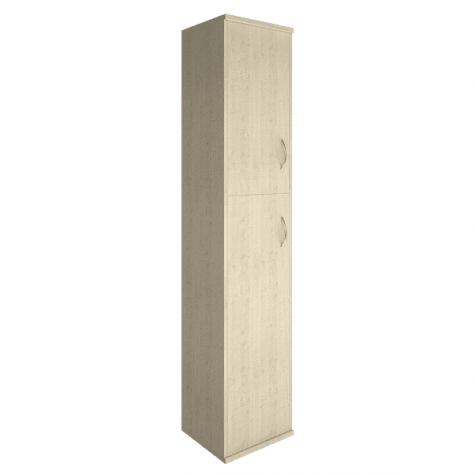 Шкаф высокий узкий 2 двери (вариант 2) левый, цвет клен