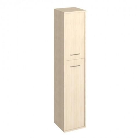 Шкаф закрытый 2-х дверный (2 вариант), цвет клен