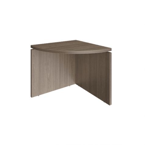 Элемент наборного переговорного стола, цвет вяз