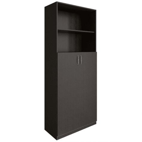 Шкаф для документов (2 открытые полки), цвет венге