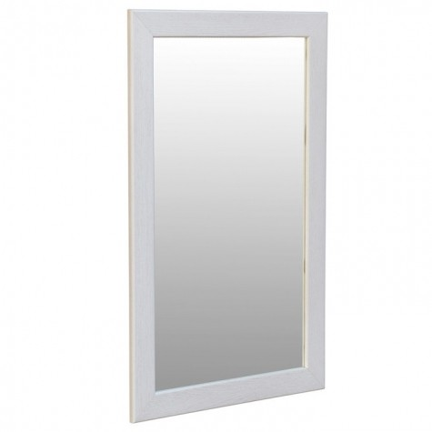 Зеркало Берже 24-90, цвет рамы - белый ясень