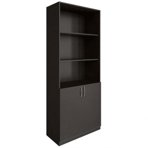 Шкаф для документов (3 открытые полки), цвет венге