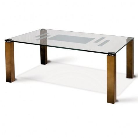 Журнальный стол Муза 1026, цвет средне-коричневый