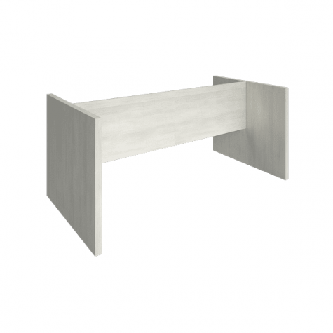 Подстолье переговорного стола, цвет белое дерево