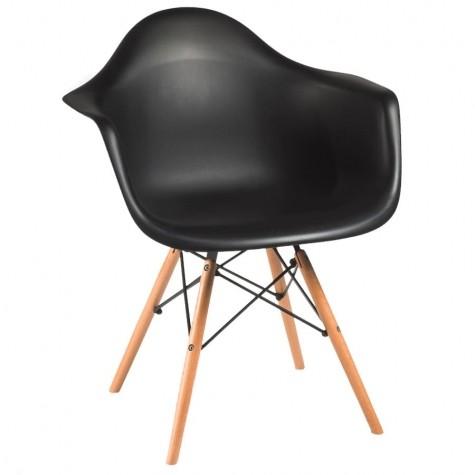 Кресло для кухни Макси-3, цвет черный