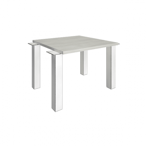 Элемент наборного переговорного стола (без опор), цвет белое дерево