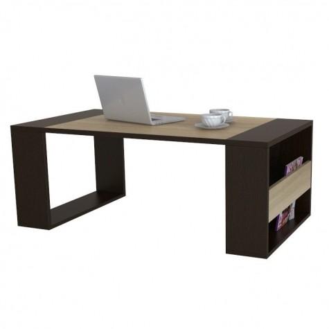 Журнальный стол Шарм 8004, цвет венге + сонома