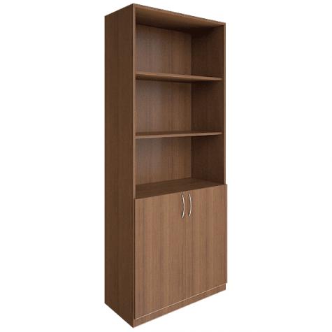 Шкаф для документов (3 открытые полки), цвет орех
