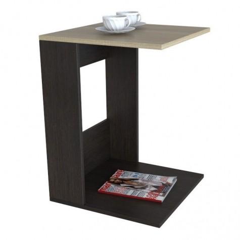 Журнальный стол Шарм 8002, цвет венге + сонома