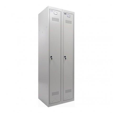 Шкаф для раздевалок модульный Практик ML-21-60 (ML-11-30+ML-01-30)