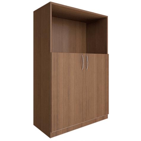 Шкаф средний (1 открытая полка), цвет орех