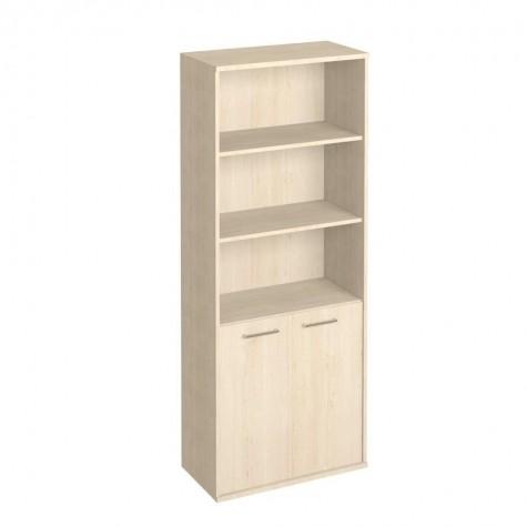 Шкаф для бумаг (3 открытые полки), цвет клен