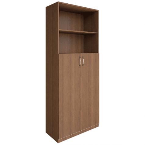Шкаф для документов (2 открытые полки), цвет орех