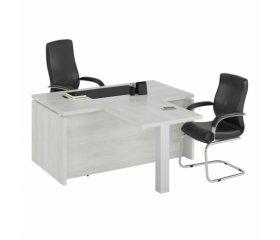 Белые столы для руководителя
