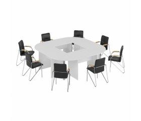 Белые столы для переговоров