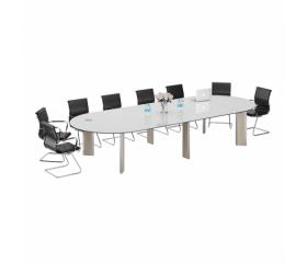 Стеклянные столы для переговоров