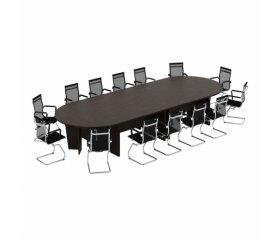 Черные переговорные столы