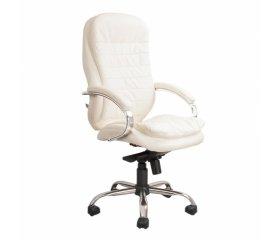 Белые офисные кресла и стулья